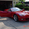 Scarlett...2007 Chevrolet Corvette Convertible... Six Speed