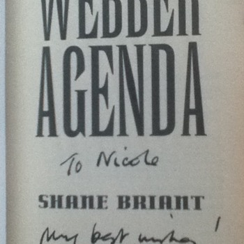 Books Signed by Shane Briant - Books