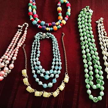 Some fun necklaces - Costume Jewelry