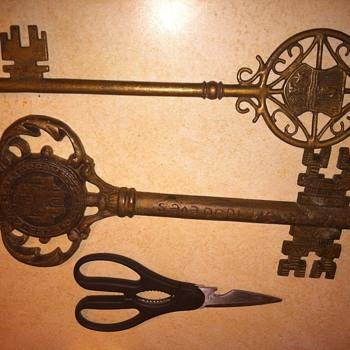 keys to the city of estergom hungary