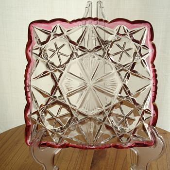 3 piece pink set - Glassware
