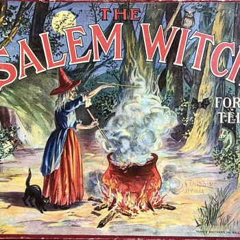 Salem Witch Fortune Teller Game  - Games
