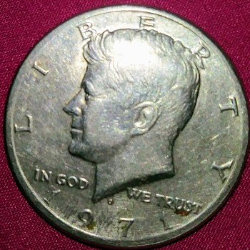 1971 Kennedy Half Dollar - US Coins