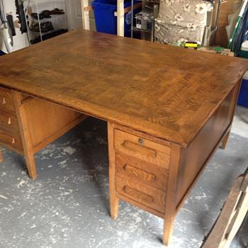Looking for info on oak partner desk - Furniture