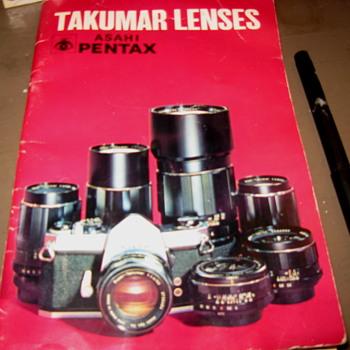 Takumar Catalog... - Paper