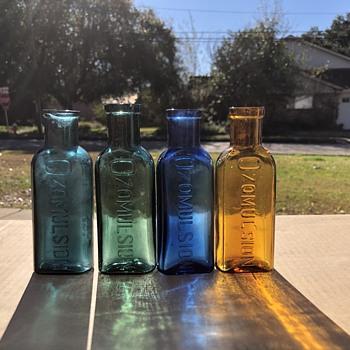 Ozomulsion  - Bottles
