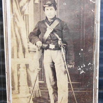 Cavalryman with his Carbine.