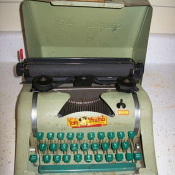 Tom Thumb Typewriter