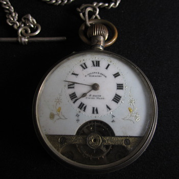 Ancre Silver Pocket watch P. Allana & Bros. 1910 I got it from my grandmother & want to know more about this beautiful watch.  - Pocket Watches
