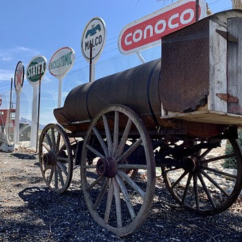 Fuel Delivery Wagon - Petroliana
