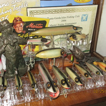 Heddon shiner scale collection