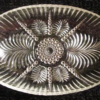 Anchor Hocking #124 Relish Dish - Glassware