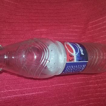 Pepsi bottle from Saudi Arabia