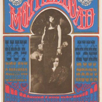 Big Brother at the Avalon Ballroom, San Francisco, 1967 - Music Memorabilia