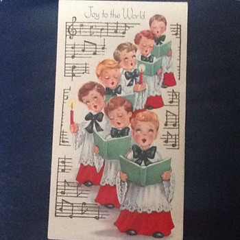 More Christmas! Vintage cards  - Paper