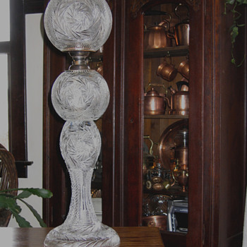 Our centerpiece of Glass - Lamps