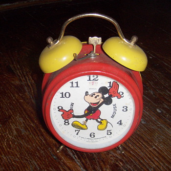 Mickey mouse alarm clock - Advertising