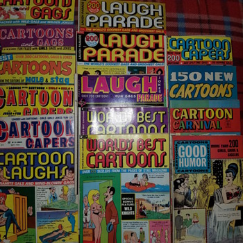 50s and 60s adult joke magazines - Comic Books