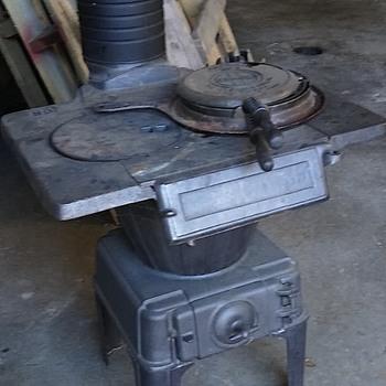 Antique Cast Iron Stove - Kitchen
