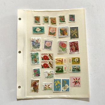 Vintage Stamps Varieties  - Stamps