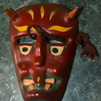 Another Mexican Mask from Michoacan - Folk Art