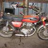 Honda 175 Motorcycle
