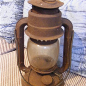 "Veritas ""wizard"" paraffin oil lantern lamp"