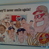 """Smilin Man"" Coca-Cola Poster"