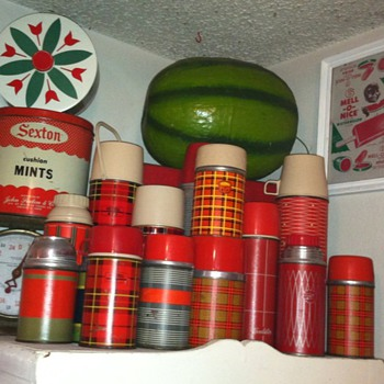 Vintage Thermos Bottles - Kitchen