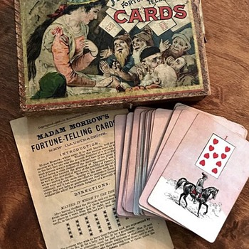 Madam Morrow's Fortune Telling Cards - Games