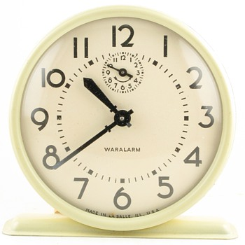 Waralarm Clock in Original Box - Clocks