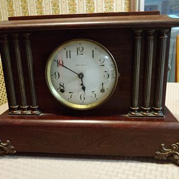 Dating my Grandparents Seth Thomas clock. - Clocks