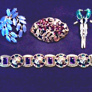 "My First ""Trifari"" and More Vintage Costume Jewelry/ Circa 20th Century - Costume Jewelry"