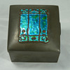 Liberty & Co. Tudric Pewter Boxes with Enamels by Knox and Varley