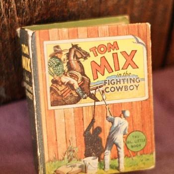 2 Big Little Books Tom Mix and Tarzan - Books