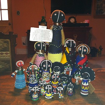 Zulu Ndbele,Matron,Sangoma,south african dolls - Dolls