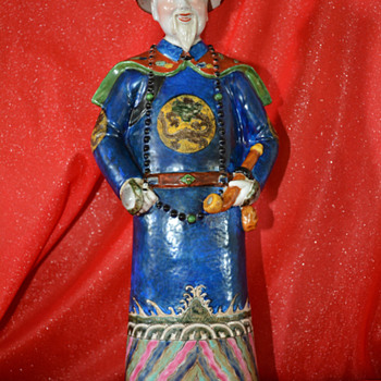 Second Chinese Porcelain Statue