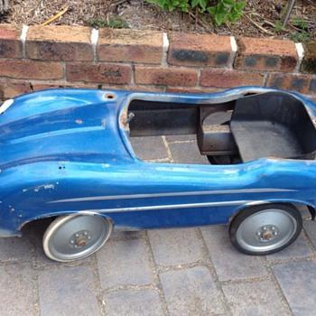 Jaguar E-Type Pedal Car  - Toys