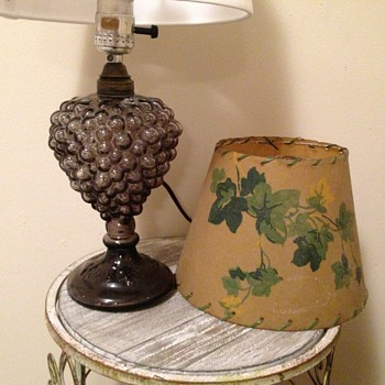 Glass Grape Cluster Lamp - Lamps