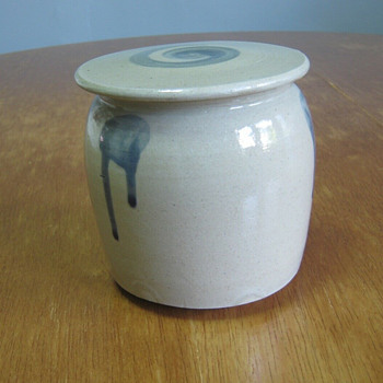 Japanese covered jar - Asian