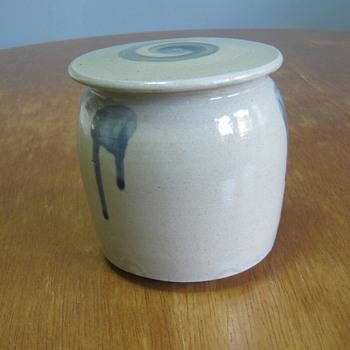 Japanese covered jar - Asian