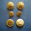 Bulgarian military buttons.