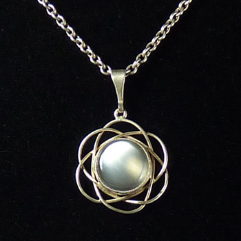 Liberty & Co Moonstone Silver Pendant - Fine Jewelry