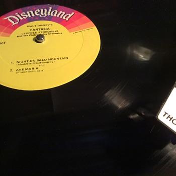 Disneyland records  - Records