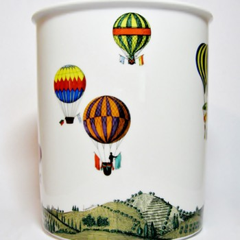 "FORNASETTI FOR ROSENTHAL-GERMANY "" MONGOLFIERE"" - Pottery"