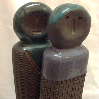 Unknown maker of Scandinavian? Pottery / Ceramic figures sculpture - Fine Art