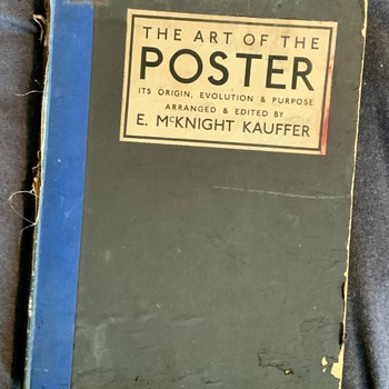 Art of the Poster, E. McKnight Kauffer, 1925  - Books