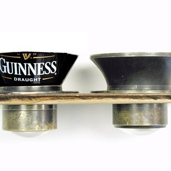 The Rare Guinness Branded 1860s Globe Lens - Cameras