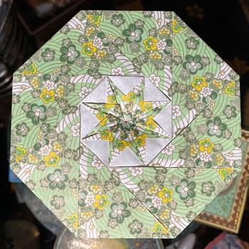 Origami Paper Box - Asian