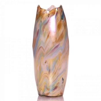 Unusual Multi-Color Loetz Vase c.1920. - Art Glass